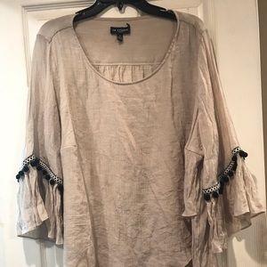 Tops - Beige shirt